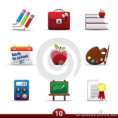 Icon series - education