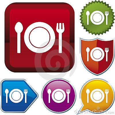 Icon series: food (vector)