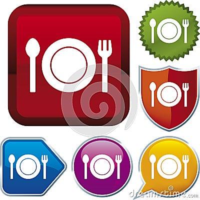 Icon series: food (vector)