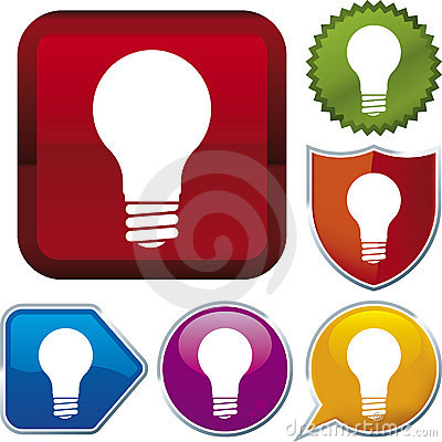 Free Icon Series: Lightbulb (vector Stock Photo - 4062620