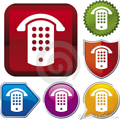 Free Icon Series: Public Phone (vec Stock Photography - 4062782