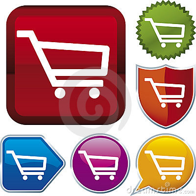 Icon series: shopping cart (ve