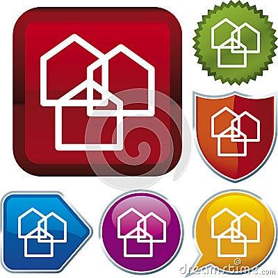 Icon series: suburb