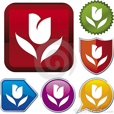Free Icon Series: Tulip Royalty Free Stock Photography - 4285967