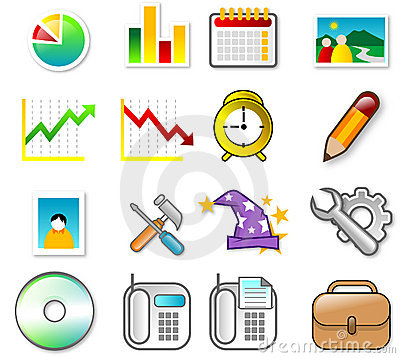 Free ICON SET Stock Photos - 2008273