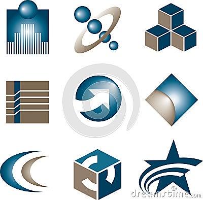 Free Icon Set Royalty Free Stock Images - 5454489