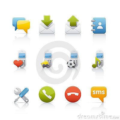 Icon Set - Comunications
