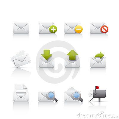 Icon Set - Comunications & Mail