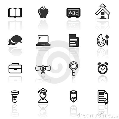 Icon set  education