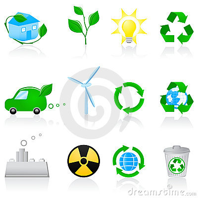 Icon set Environment