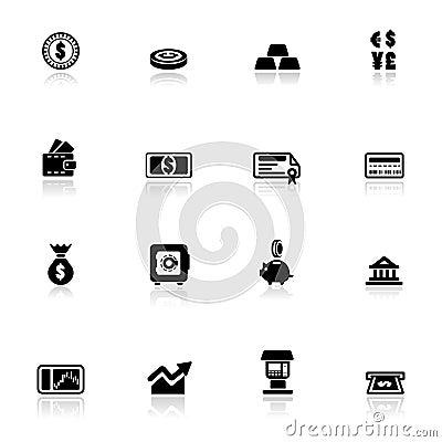 Icon set  Financial