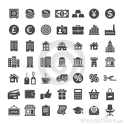 Free Icon Set For Website And App Royalty Free Stock Photos - 85340198