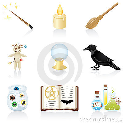 Free Icon Set Magic Stock Image - 6472401