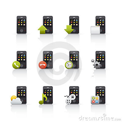 Icon Set - Mobile Comunications