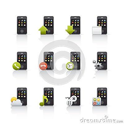 Icon Set - Mobile Comunications