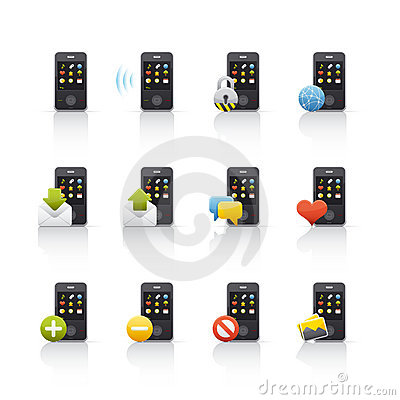 Icon Set - Mobile Comunications 2