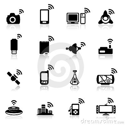 Icon set  Network