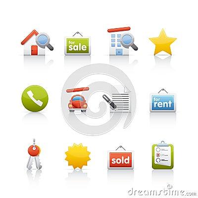 Icon Set - Real Estate