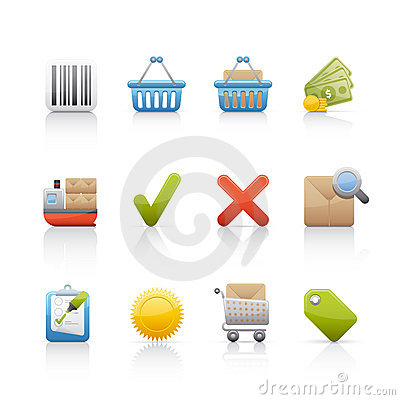 Icon Set - Shopping