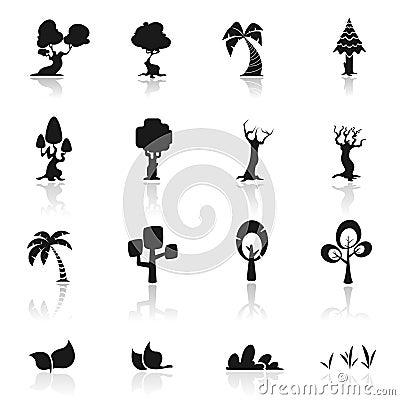 Icon set trees