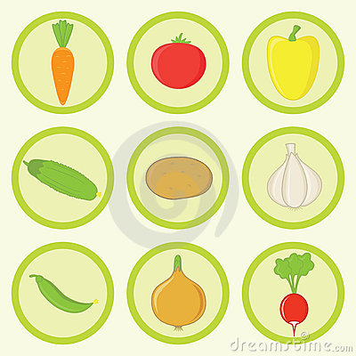 Icon Set -Vegetables