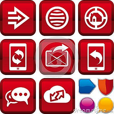 Icon set web