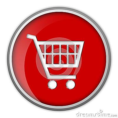 shopping cart icon. ICON, SHOPPING CART, BUTTON