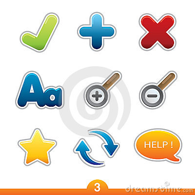 Free Icon Sticker Set - Web Universal Stock Images - 13091344