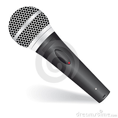 Free Icon With A Microphone Royalty Free Stock Image - 17471566