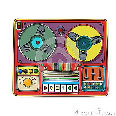 Icona di Magnetophone