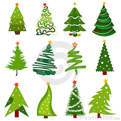 Icone dell albero di Natale