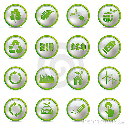 Icone di Eco impostate