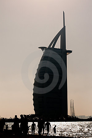 Iconic building in dubai Editorial Photo