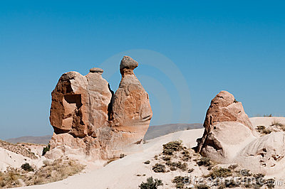 Iconic Camel Shaped Rock Cappadocia Turkey