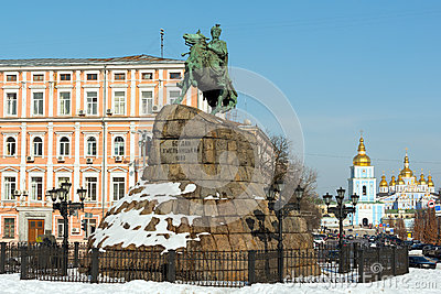 Iconic Kiev view