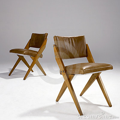 Iconic Modern Design Chairs Editorial Photo