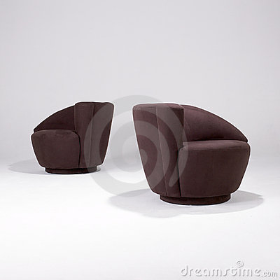 Iconic Modern Design Chairs Editorial Stock Photo