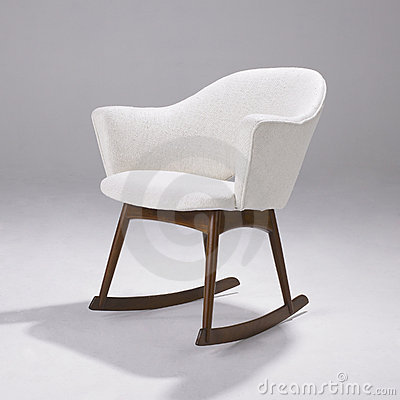 Iconic Modern Design Rocking Chair Editorial Photo Image