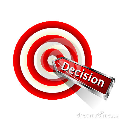 Icono de la decisión del concepto