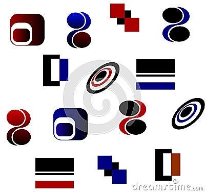 Iconos de los logotipos