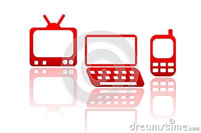 Iconos de los media