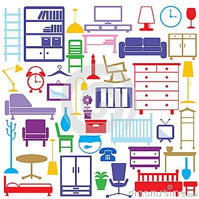 Iconos de los muebles