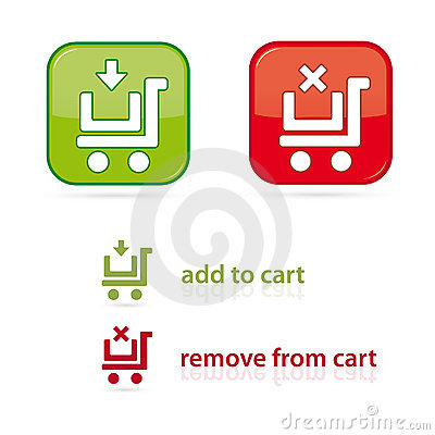 Iconos del carro de compras
