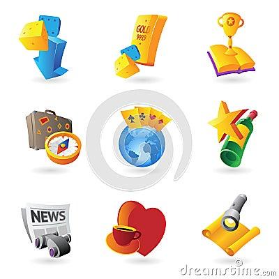 Iconos para el ocio