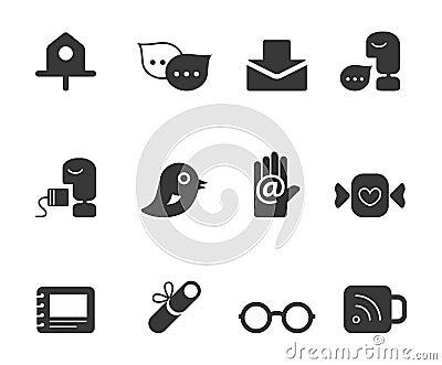 Iconos personales de la lista