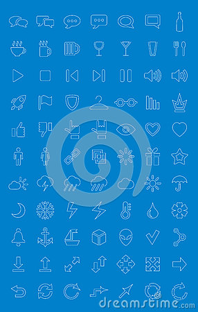 Iconos universales fijados