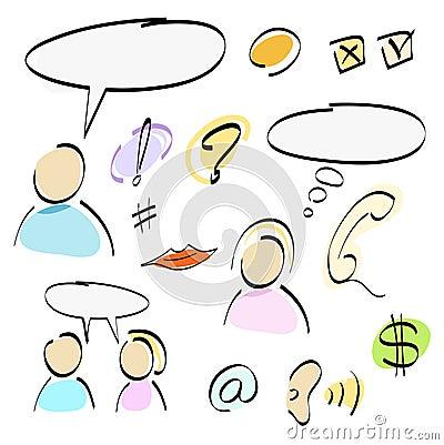 Free Icons Royalty Free Stock Image - 2257896