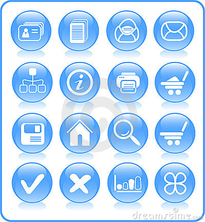 Free Icons Royalty Free Stock Photography - 2316937