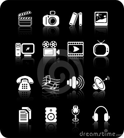 Free Icons Royalty Free Stock Image - 2321956