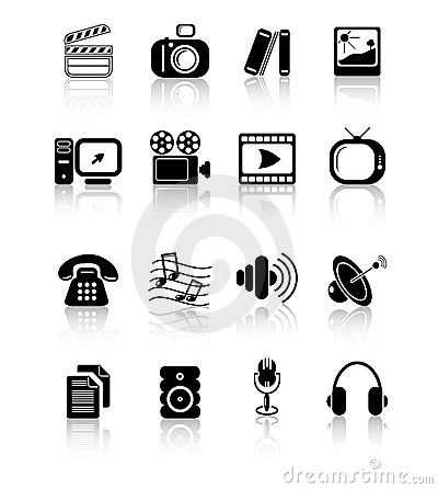 Free Icons Royalty Free Stock Photos - 2321958